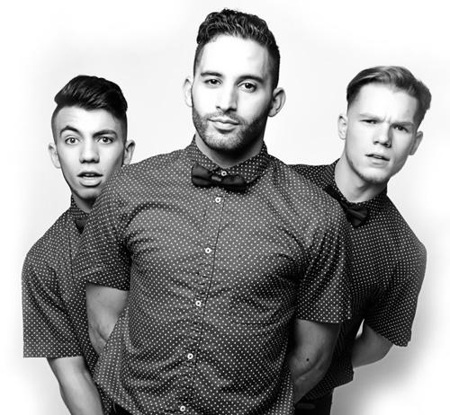 photo-des-trois-danseurs-de-pancakesbros-en-noir-et-blanc